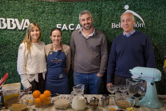 Catalina García, Leticia Cicero, Federico Celsi, Pablo Cabán.