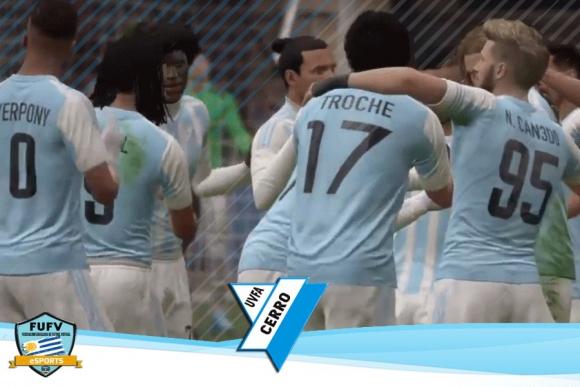 UVFA Cerro es líder y ahora lo hace en solitario tras 8 fechas jugadas. Foto: Captura
