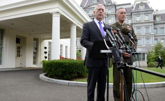 El secretario de Defensa de EEUU habló de una respuesta militar