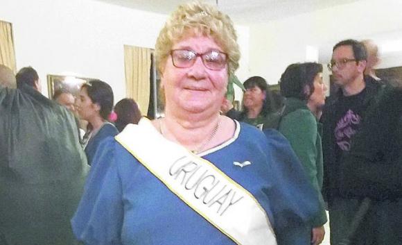 Iris Yolanda Curbelo, 77 años, oriunda de Paysandú. Foto: Alejandro Seselovsky