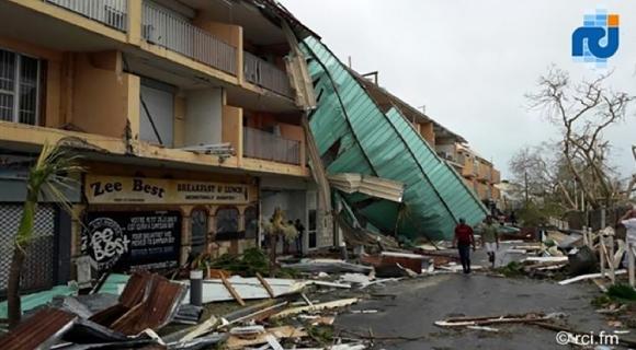 Los daños que provocó el huracán Irma. Foto: AFP