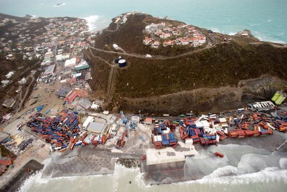Los daños que provocó el huracán Irma. Foto: Reuters