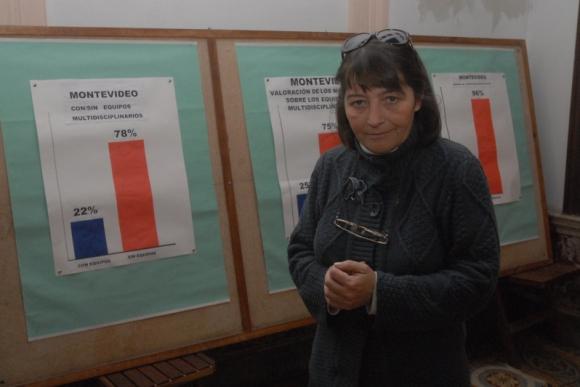 Daysi Iglesias, secretaria general de Ademu. Foto: Archivo El País.
