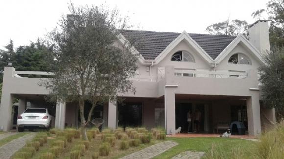 La propiedad que el mafioso tenía en Punta del Este. Foto: Unicom