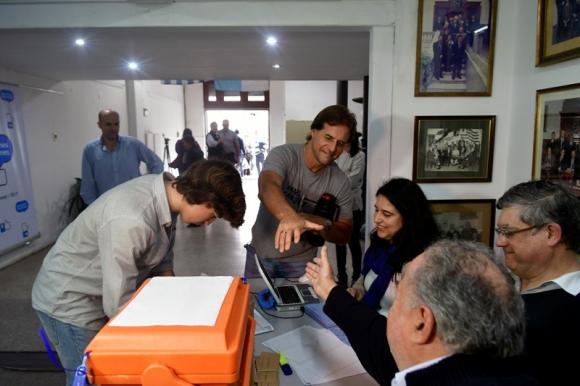 Elecciones de la juventud del Partido Nacional. Foto: Fernando Ponzetto.