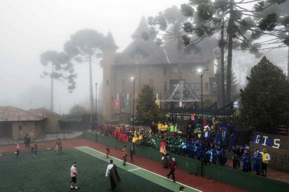 El Quidditch es el deporte estelar en la escuela de Harry Potter. Foto: AFP