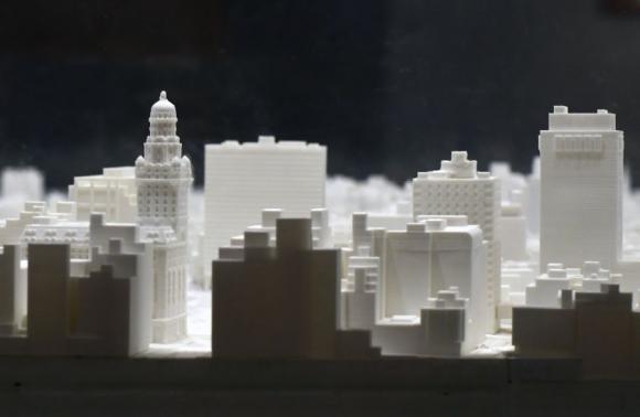 La tecnología aplicada en las maquetas es una nueva apuesta de Arquitectura y museos. Foto: Fernando Ponzetto