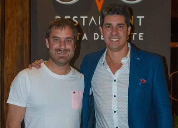 Maxi Palma y Javier Azcurra.