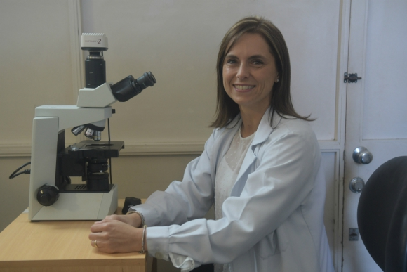 Dra. Eloisa Riva, profesora de la Cátedra de Hematología del Hospital de Clínicas.