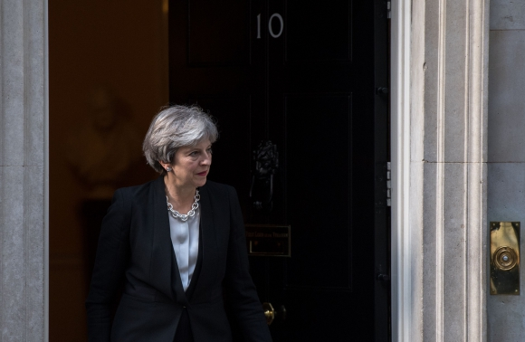 Theresa May. Foto: AFP