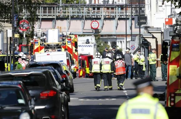 El gobierno británico elevó al máximo el nivel de amenaza terrorista. Foto: AFP