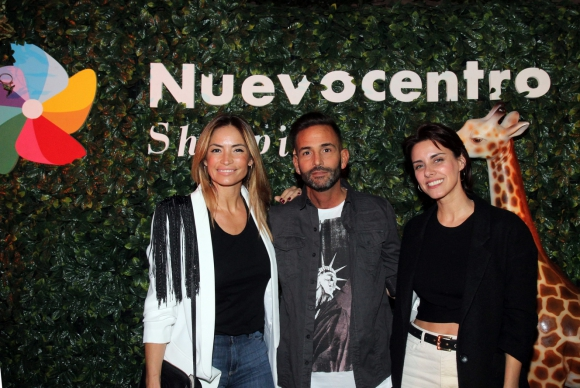 Claudia Fernández, Marco Calache, Patricia Wolf.