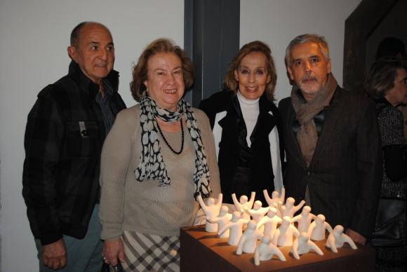 César García, María Emilia Pérez Santarcieri, Estela Medina, Marcello Figueredo.