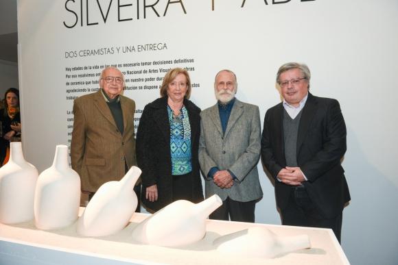 Enrique Silveira, María Julia Muñoz, Jorge Abbondanza, Enrique Aguerre.