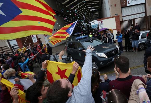 """""""Si"""" o """"No"""": Cataluña está dividida. Foto: Reuters"""
