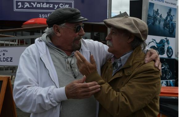 Juan Carlos López y Pepe Guerra.