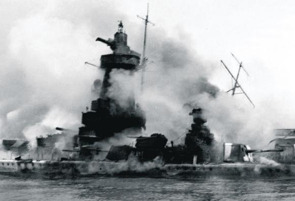 El capitán Langsdorff ordenó echar a pique el acorazado el 17 de diciembre de 1939. Foto: AFP