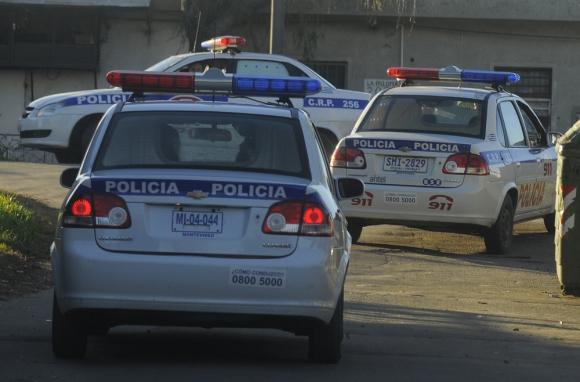 Persecución: robaron, los ubicó la Policía y perdieron el botín. Foto: Archivo El País