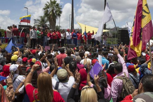 Trump hace responsable a Maduro por la salud de López y Ledezma. Foto:  EFE