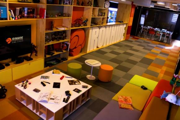 Oficinas de la empresa uruguaya Ironhide. Foto: Ironhide Game Studio.
