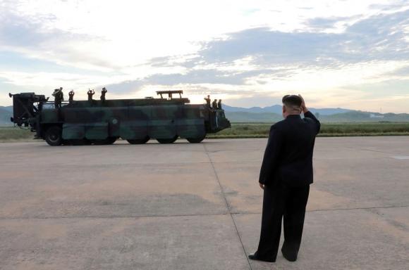"""Los ensayos con misiles son """"actos escandalosos"""", estimó el Consejo de Seguridad. Foto: AFP"""