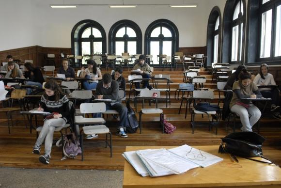 La mitad de los profesores eligió en 2015 los mismos liceos que un año antes. Foto: Archivo