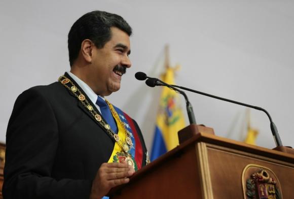 Nicolás Maduro agradeció a Donald Trump. Foto: EFE