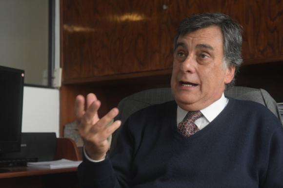 Angel Urubarru, presidente de la Bolsa de Valores. Foto: Francisco Flores