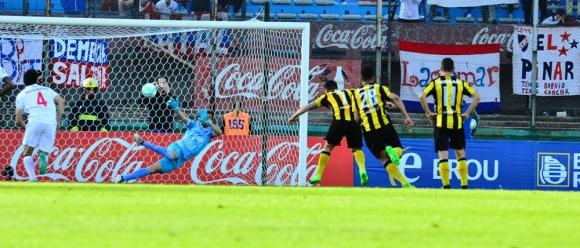 El cebolla convirtió el primer gol del club mirasol. Foto: Gerardo Pérez
