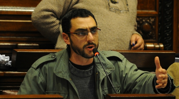 Gerardo Núñez, legislador oficialista. Foto: Archivo El País