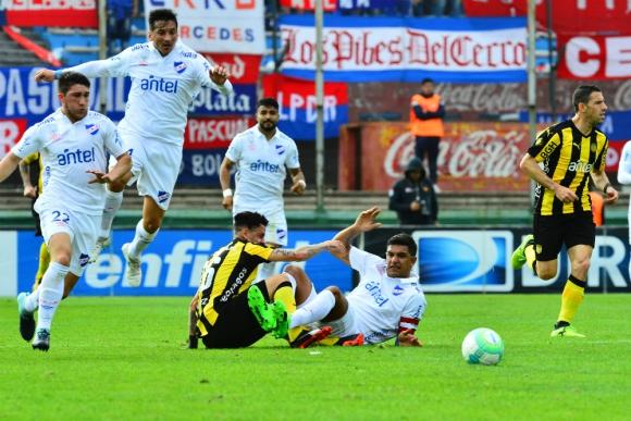 El choque entre Fabián Estoyanoff y Diego Polenta