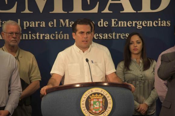 Ricardo Rosselló, gobernador de Puerto Rico. Foto: El Nuevo Día.