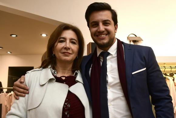 Adriana y Rodrigo Criado.