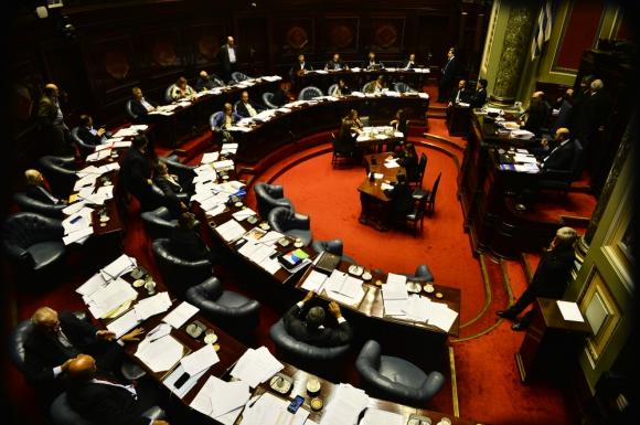 El Frente Amplio logró que se votara la Rendición de Cuentas en el Senado. Foto: Gerardo Pérez
