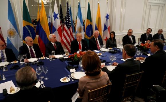 Donald Trump en la Asamblea General de la ONU. Foto: Reuters