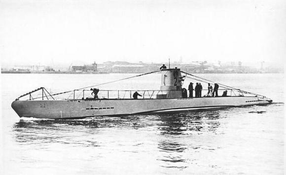 Submarino similar al UB2 hallado. Foto: Wikipedia