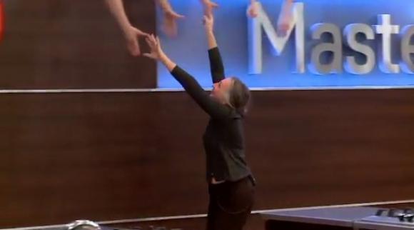 Raquel fue eliminada de MasterChef 2