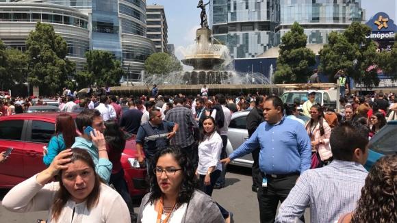 Terremoto  de 7,1 grados en México: Foto: Reuters