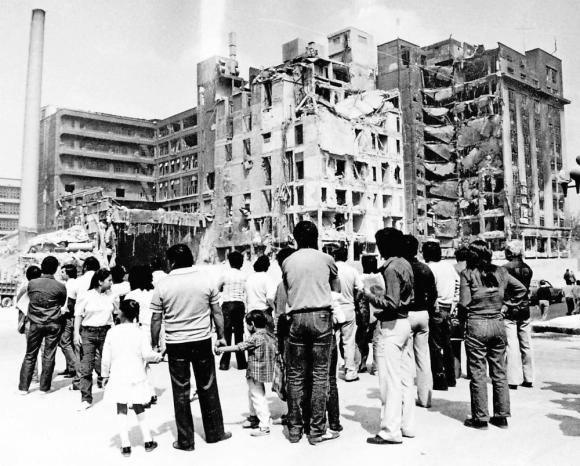El terremoto ocurrió en la mañana del 19 de septiembre de 1985. Foto: El Universa GDA