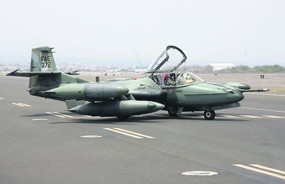 Cessna: han cumplido 40 años de servicio en la Fuerza Aérea. Foto: Archivo El País