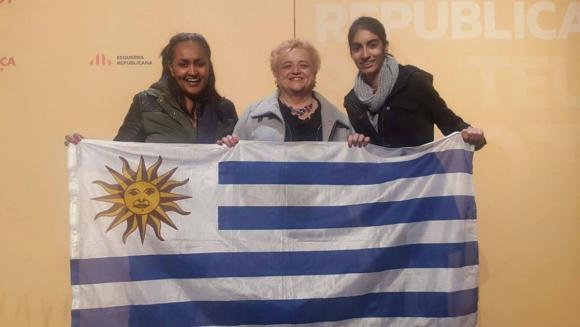 Ana Surra, uruguaya, diputada en España por el partido independentista ERC. Foto: Facebook Ana Surra.