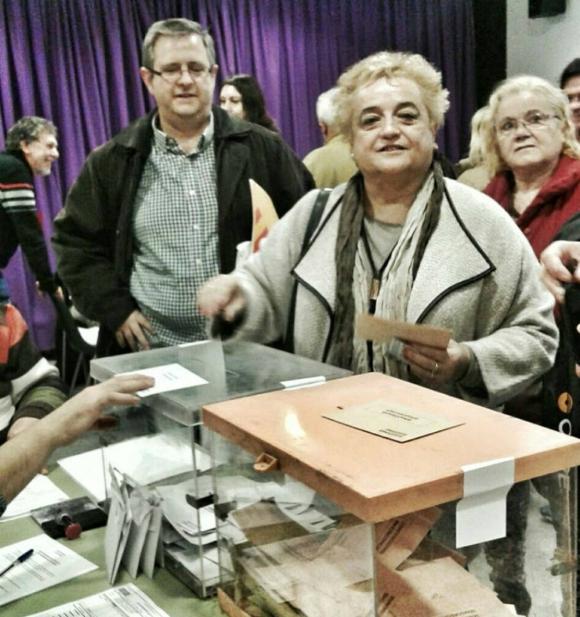 Ana Surra fue electa diputada en las elecciones de 2015 y 2016. Foto: Facebook Ana Surra.