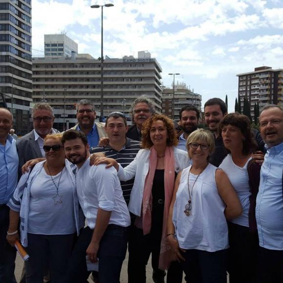 Ana Surra, parlamentaria uruguaya en España. Foto: Facebook Ana Surra.