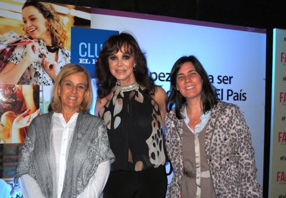 Irma Scheck, Patricia Palmer, Soledad Aguirre.