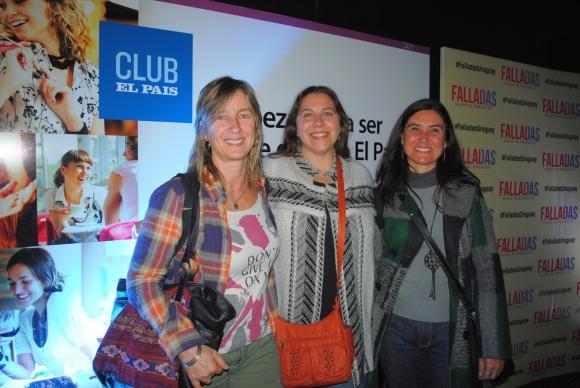 Paola Deandrea, Betsy Iglesias, Laura Pirez.