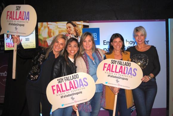 Sara Perrone, Yisela Moreira, María García, Sofía Rodríguez, Karina Vignola.