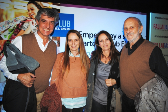 Víctor San Martín, Gabriela Lombardo, Beatriz Peyroti, Elbio Acuña.
