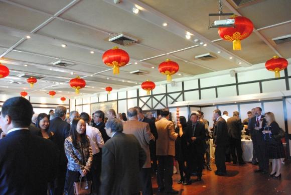 El festejo por el aniversario de la República Popular China se llevó a cabo en el Club de Golf.
