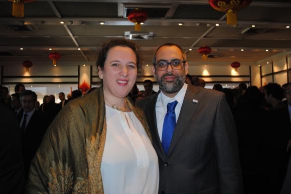 Embajadora de Israel Nina Ben Ami, Lior Ben Ami.