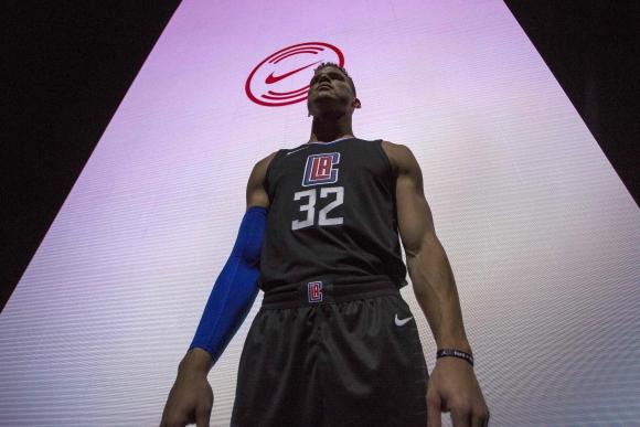 Blake Griffin. La estrella de los Clippers celebra el cambio de materiales.